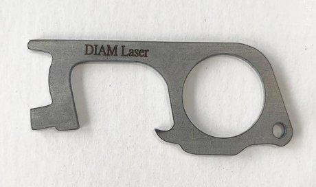 DIAM Laser Gravure sur acier Lyon