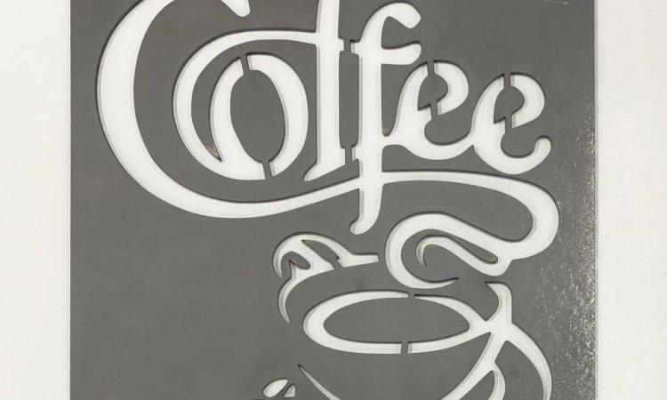 DIAM Laser Découpe acier Lyon, décoration café en acier personnalisé