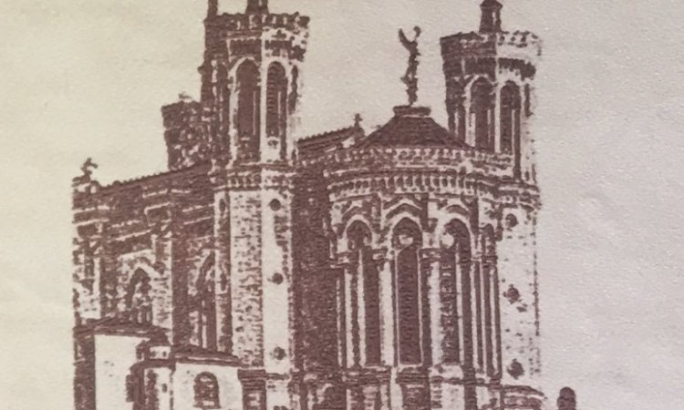 DIAM Laser Gravure sur cuir Lyon, gravure à partir d'une photo sur du cuir couleur clair